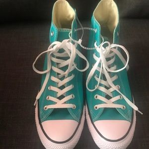 Converse All Star Men's Sneakers Sz 11.5 Turquoise